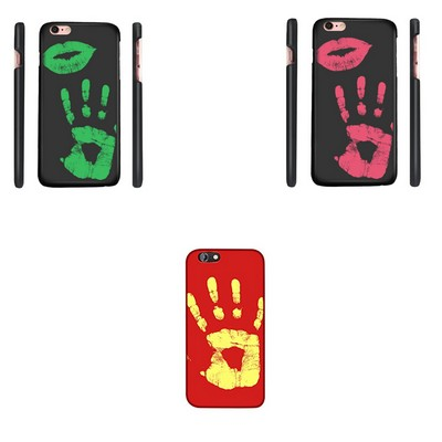 Thermal Color Changer Hard PC Phone Case For Iphone 6 & Iphone 7