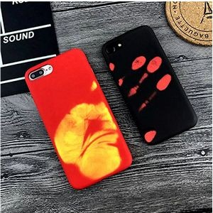 TPU Temperature Discoloration Phone Case For Iphone 6 plus & Iphone 7 Plus